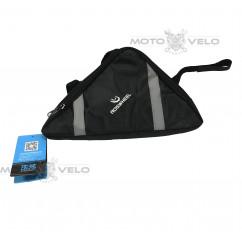 Велосипедная сумка под раму (для инструмента, ROSWHEEL, чёрная, средняя) , mod:GA-58