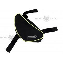 Велосипедная сумка под раму (для инструмента, ROSWHEEL, чёрная, маленькая), mod:GA-57
