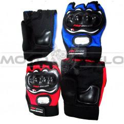 """Перчатки """"Pro-baiker"""" (без пальцев,с защитой) (#MD)"""