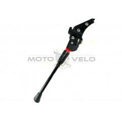 Подножка велосипедная на раму двойной захват (алюминиевая) (#MD),цвет:черный
