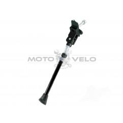 Подножка велосипедная центральная с пружиной (#MD),цвет:черный
