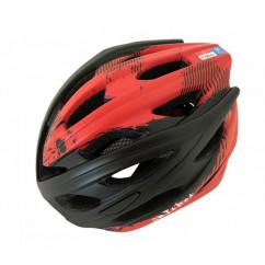 Шлем 'Calibri' FSK-450, цвет:черный+красный