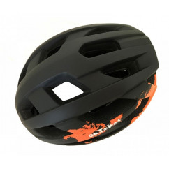 Шлем 'Calibri' FSK-Y53, цвет:черный+оранжевый