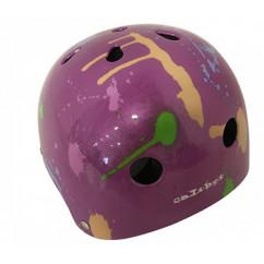 Шлем детский 'Calibri' FSK-503L,цвет:фиолетовый