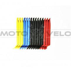 """Бортировка """"Bike Hand"""" Taiwan (mod:YC-311M) компл. 3 шт. (цвет: черный, красный, синий, желтый)"""