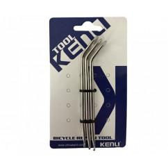Бортировка железная 'KENLI' (компл. 3 шт) (KL-9720A)