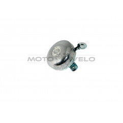Звонок металлический на велосипед (хром)