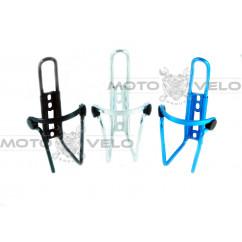 Флягодержатель алюминиевый цвет: черный, белый, синий (#MVG)