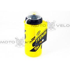 Фляга SPELLI SWB-528-M-(600 ml) желтый