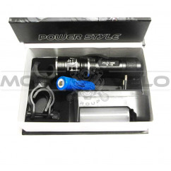 Фонарь кристаллический набор POLICE 200W (#MD), mod:BL-105