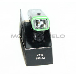 Фара велосипедная (передняя, с креплением, зарядка под USB) (#MD), mod:HJ-047 (SA-8)