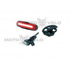 Мигалка задняя (зарядка под  USB, красный/красный,белый/красный) (#MD), mod:NQY-096 (GA-34)