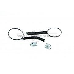 Зеркала боковые круглые на велосипед (пара) (#КМ)