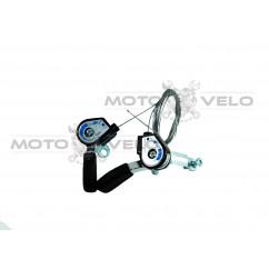 Переключатель скоростей (манетка) алюминиевая,mod:YD-K02 (#КБ)