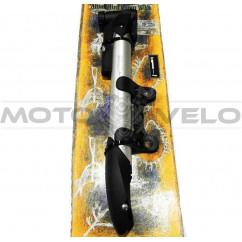 """Насос велосипедный алюминиевый с манометром,не телескопический """"Taiwan"""" (mod:91) (#MD)"""