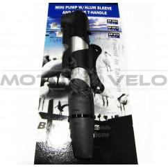 """Насос велосипедный алюминиевый с манометром,не телескопический """"Taiwan"""" (mod:961A) (#MD)"""