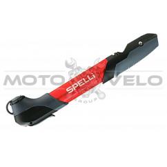 Насос для велосипеда SPELLI SMP-196 AL красный