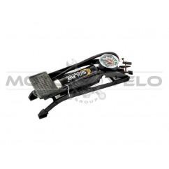 Насос ножной однопоршневой с манометром 'SOLAR FT 211'