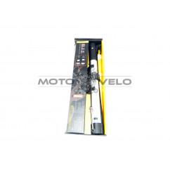 Насос велосипедный алюминиевый с ручкой  'HONOR' (mod:SA-45)