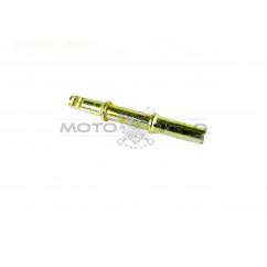 Ось каретки велосипедная под чашки (клин) (L-145mm) 'KM'