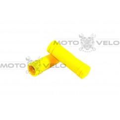 """Грипсы велосипедные """"SPELLI SBG-660 S"""" желтый"""