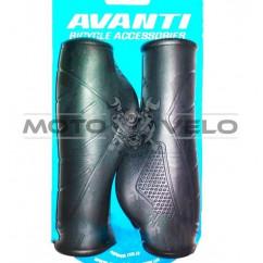Грипсы велосипедные,анатомические 'AVANTI GR-150' (125mm) цвет:черный