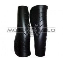 Грипсы велосипедные,анатомические 'AVANTI GR-156' (130mm) цвет:черный