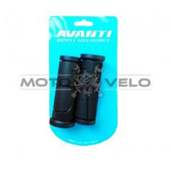 Грипсы велосипедные,под ревошифт 'AVANTI GR-56' (90mm) цвет:черный