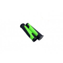 Грипсы велосипедные,цвет:черно-зеленый (Тайвань)