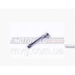 Вынос руля велосипеда (под рулевую резьбовую) (L-400mm, D-22mm) (хром)