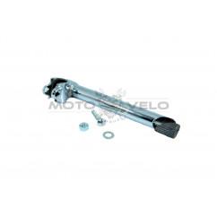 Вынос руля велосипеда (под рулевую резьбовую) (L-200mm, D-22mm) (хром)