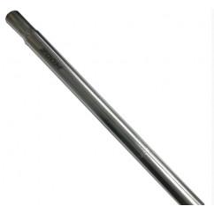 Трубка подседельная алюминиевая 'ZOOM' (L-400mm, d-27,2) цвет:хром
