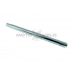 Трубка подседельная металл (L-400mm,D25,4) (#MD),цвет:хром