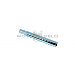 Трубка подседельная металл (L-200mm, d-25,4) (#MD),цвет:хром