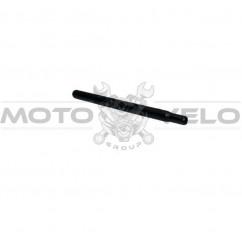 Трубка подседельная металл (L-300 mm, d-25,4) (#HZR),цвет:черный