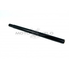 Трубка подседельная металл (L-400 mm, d-25,4),цвет:черный