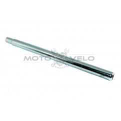 Трубка подседельная металл (L-400mm, d-27,2) цвет:хром
