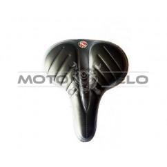 Седло велосипедное с силиконовым наполнителем 'AGILETTE',цвет:черный (mod:AZ-92BF-3Q) (Taiwan)