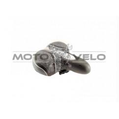 Седло велосипедное,цвет:черно-серый (mod:6033)