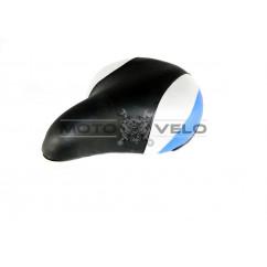 Седло широкое на пластмассовой основе, цвет:черно-синий (mod:SD-7016)