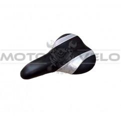 """Седло спортивное """"MD"""" цвет: черно-серый (mod:69D)"""