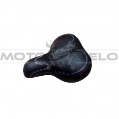 """Седло велосипедное """"AGILETTE"""",цвет:черный (mod:269) (Taiwan)"""