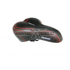 Седло велосипедное 'HENGCHI-LIGHT',цвет:черный (mod:AZ-449) (Taiwan)