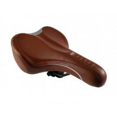 Седло велосипедное 'Perfect',цвет:коричневый