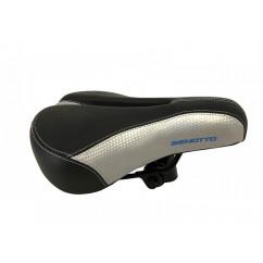 Седло велосипедное 'Benotto', mod:AZ-399BF-6X (черно-серое)