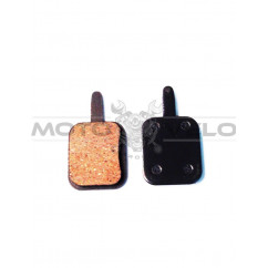 Колодки тормозные велосипедные (дисковые) mod:N10