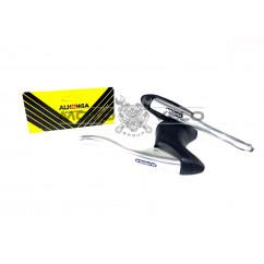 """Ручки тормозные алюминиевые на BMX """"ALHONGA"""",цвет:серый"""
