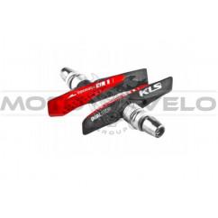 Колодки тормозные велосипедные Kellys 'Dualstop V-02 для V-Brake'