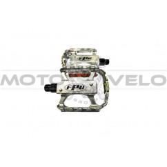 Педали велосипедные алюминиевые, mod:105 FPD (#MD) TAIWAN цвет:серебристый (пара)