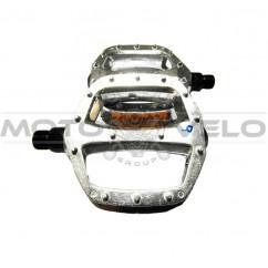 Педали велосипедные алюминиевые, mod:905 FDF (#MD) TAIWAN цвет:серебристый (пара)